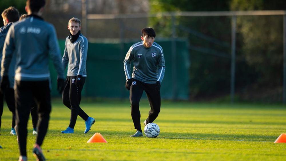 Văn Hậu tập luyện cùng SC Heerenveen sau khi trở về từ SEA Games 30